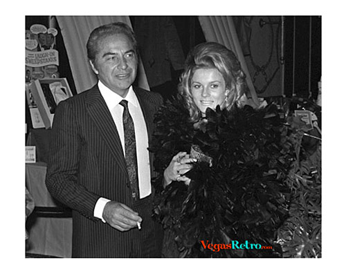 Photo of Ann-Margaret & Fernando Lamas at Caesars Palalce party