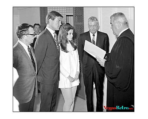 Photo of Ann Margret & Roger Smith Wedding