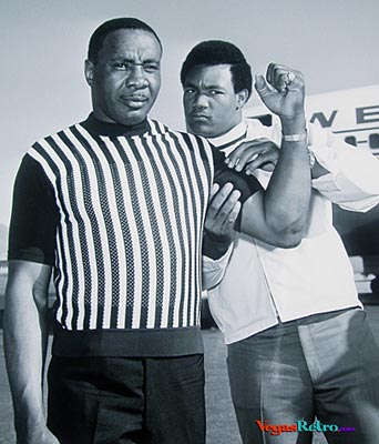 Photo of Sonny Liston and George Forman