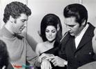 Elvis Presley, Priscilla & Tom Jones