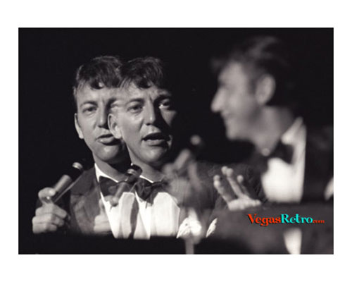 Photo of Bobby Darin live on stage in Las Vegas, circa 1967