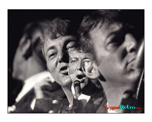 Photo of Bobby Darin on Las Vegas stage