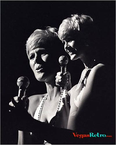 Image of Connie Stevens on stage in Las Vegas in 1968
