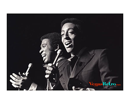 Image of the Hines Brothers on stage in Las Vegas 1969