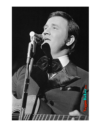 Photo of Roger Miller on Las Vegas Stage