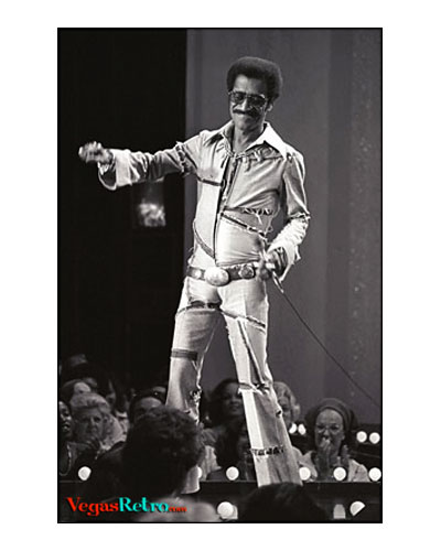 Sammy Davis Jr at Caesars Palace 1975
