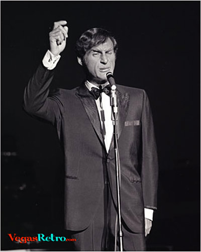 Photo of Sid Caesar live on stage in Las Vegas