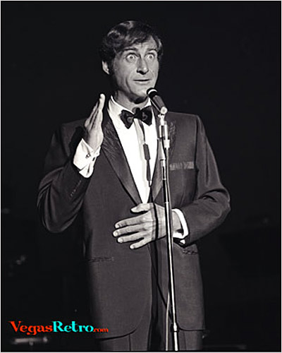 Photo of Sid Caesar live on stage in Las Vegas 1967