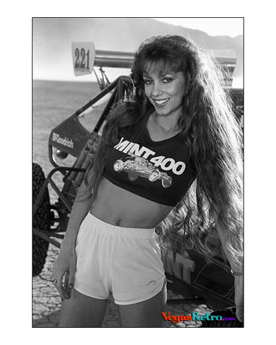 Photo of Andrea Barbuti as Mint 400 Queen 1984