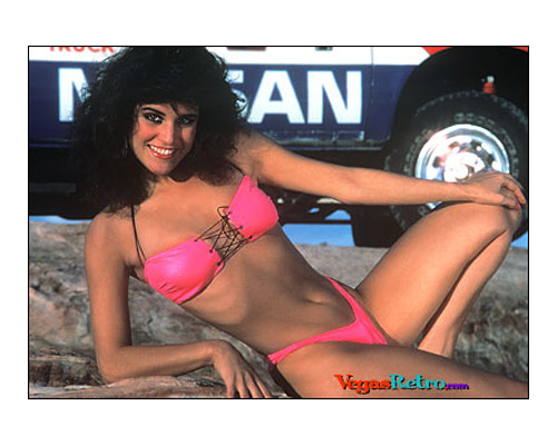 Photo of Mint 400 Girl Camille D'onofrio 1986