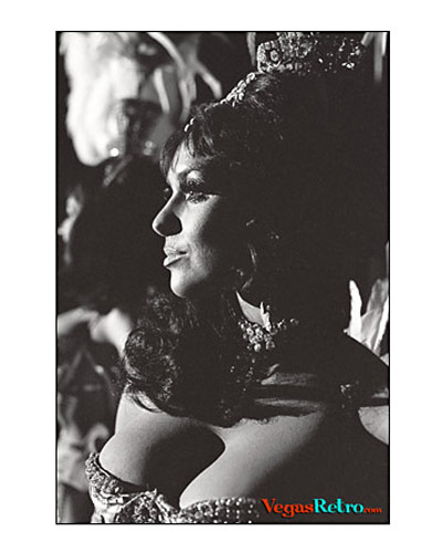 Photo of Tropicana Showgirl Felicia Akins