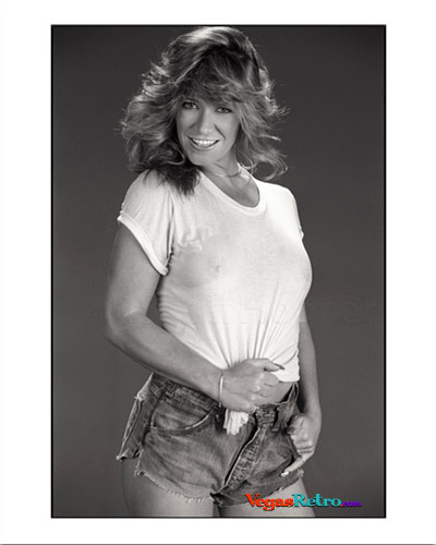 MARILYN CHAMBERS in wet t-shirt 1985