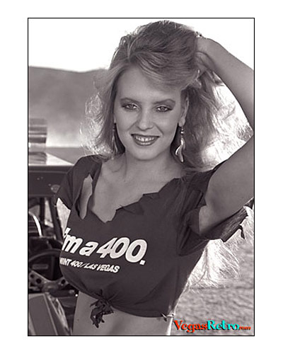 Photo of Natalie Chenoweth Mint 400 Queen 1984