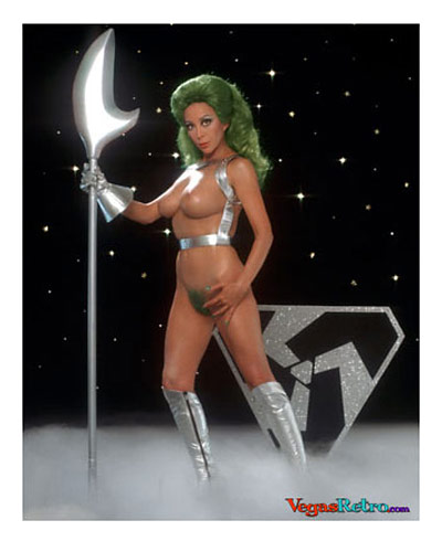 Angelique Pettyjohn nude as Shahna from Star Trek