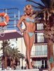 Cheesecake Photo of Tropicana Showgirl by the pool, circa 1968