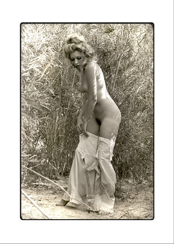 Nude photo of Janet Boyd as Gibson Girl