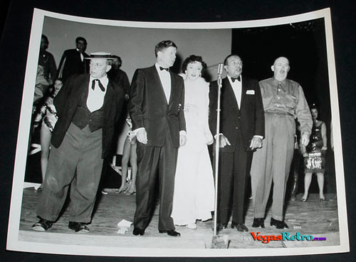 Photo of Buster Keaton, Rudy Valee, Fifi D'Orsay, Harry Richman, Paul Whiteman