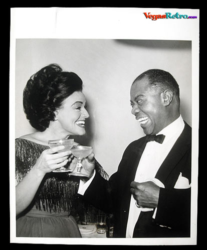 Photo of Kay Starr & Louis Armstrong