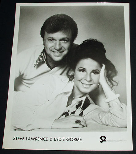 Photo of Steve Lawrence and Edyie Gorme