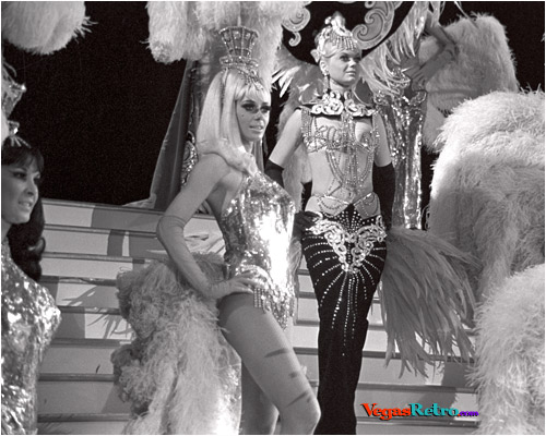 Photo of Tropicana Showgirls from Folies Bergere 1969