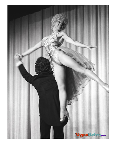 "Image of dancer being held in the air from ""VIve Paris Vive"" 1975"