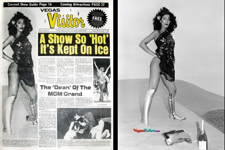 Anisa Bonina on the Vegas Visitor Cover