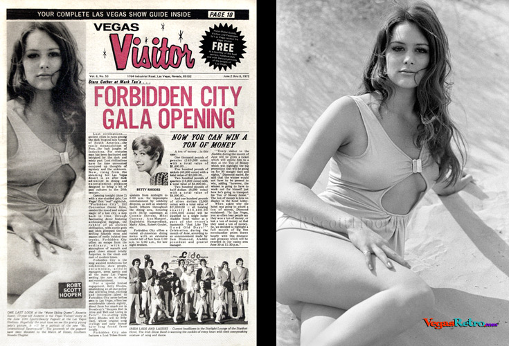 Photo of Annette Suzor  on the Vegas Visitor Cover