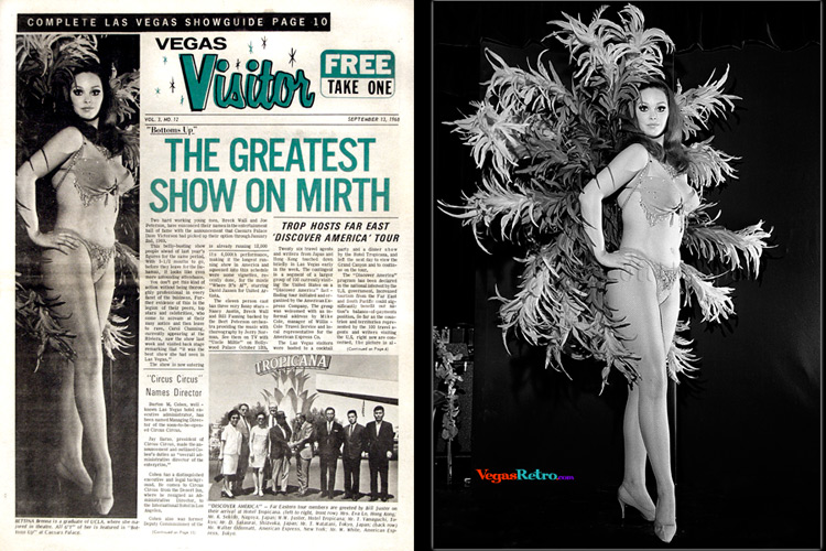 Photo of Bettina Brenna on the Vegas Visitor Cover