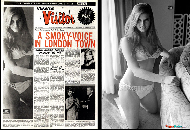 Bonnie Hayes on the Vegas Visitor cover