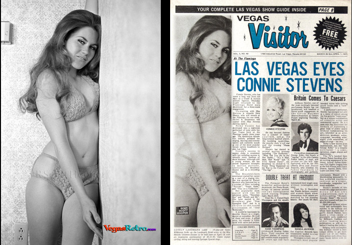 Photo of Caren Wilkinson on the Vegas Visitor Cover