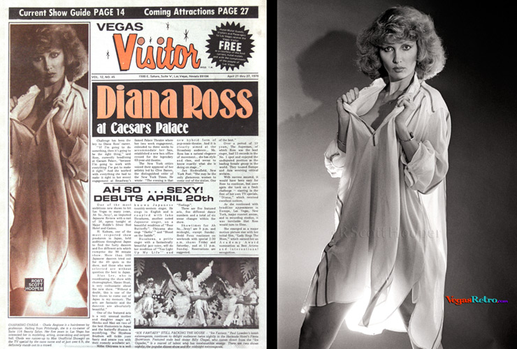 Photo of Chada Angione on Visitor Cover 4/21/78