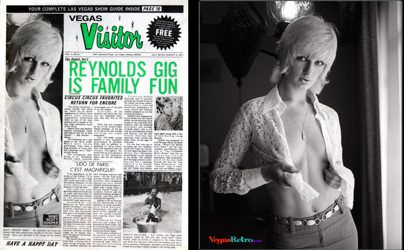 Chris Webb on the Vegas Visitor cover