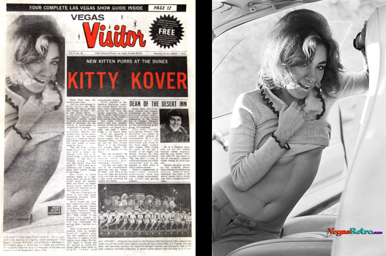 Cindy Raft on the Vegas Visitor cover