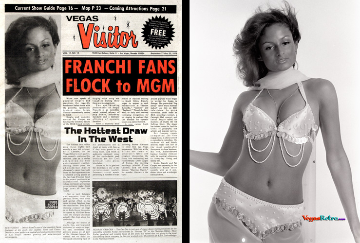 Photo of Debbie Esses on the Vegas Visitor Cover
