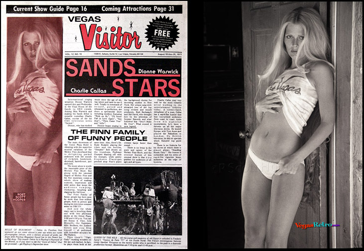 Playmate of the Year 1978 Debra Jo Fondren on the Vegas Visitor