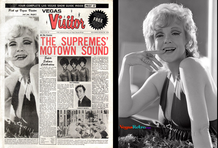 Edie Adams on the Vegas Visitor cover