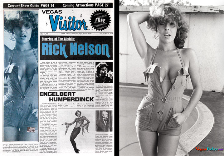 Eva Courtoy on the Vegas Visitor cover June 16, 1978