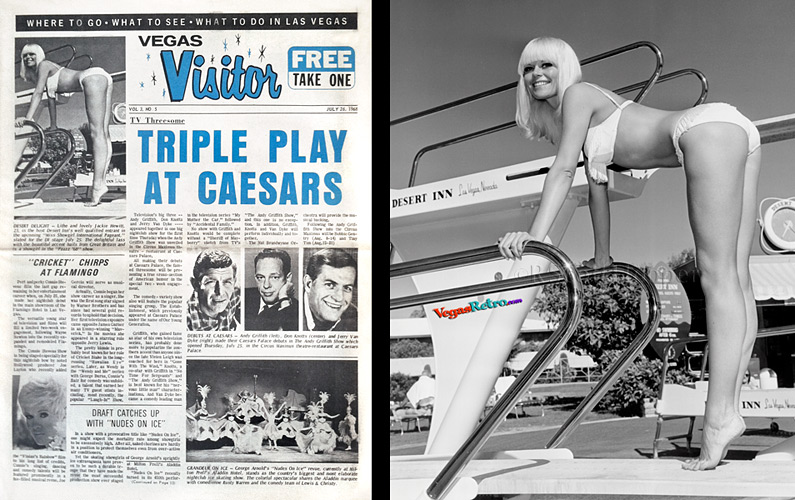 Jackie Hewitt photo on the VEGAS VISITOR cover