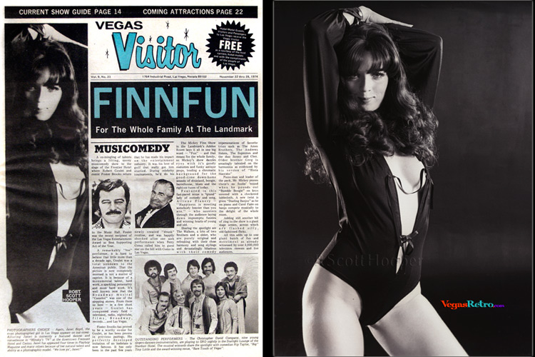 Photo of Janet Boyd from the Vegas Visitor Cover