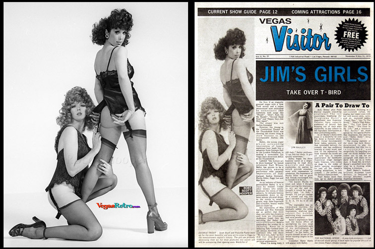 Photo of Janet Boyd and Francine Farrar Vegas Visitor Cover