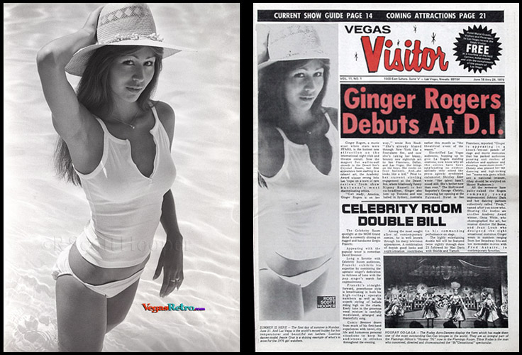 Vegas VIsitor cover girl Jeanie Cruz