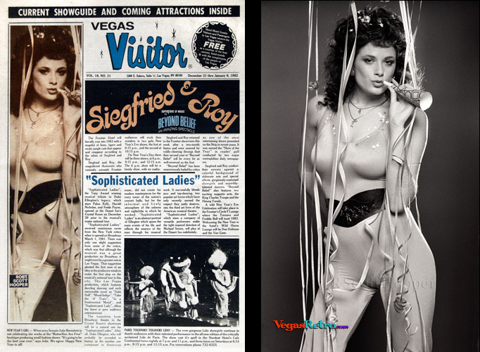 Photo of Julie Bernstein on the Vegas Visitor cover