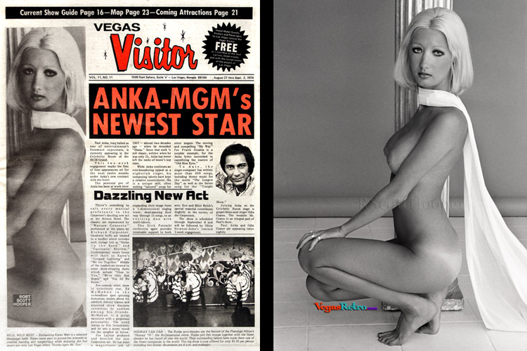 Photo of Karen West on the Vegas Visitor Cover
