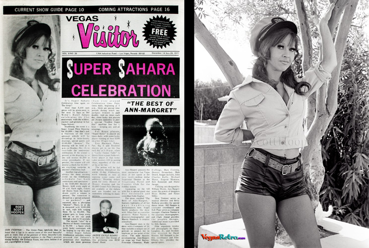 Photo of Lola Krouse on the Vegas Visitor Cover