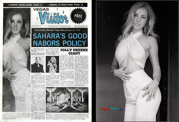 Photo of Margie Blackmer from the Vegas Visitor Cover