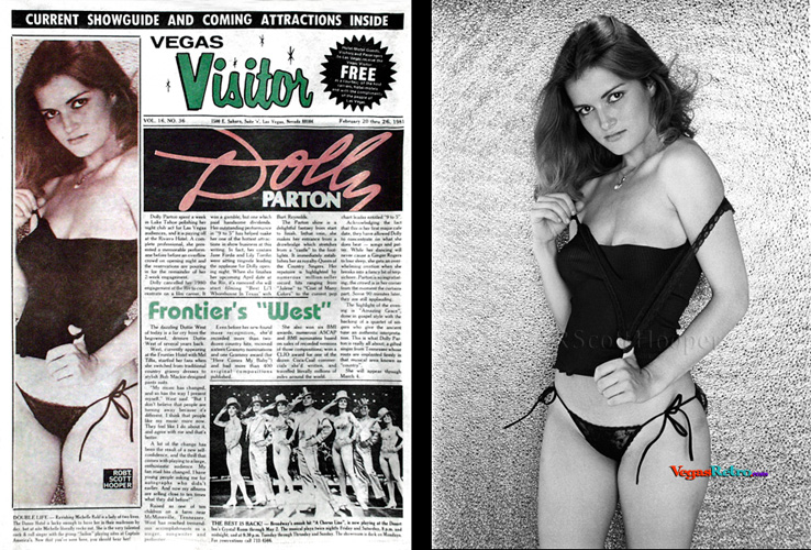 Michelle Rohl on the Vegas Visitor Cover