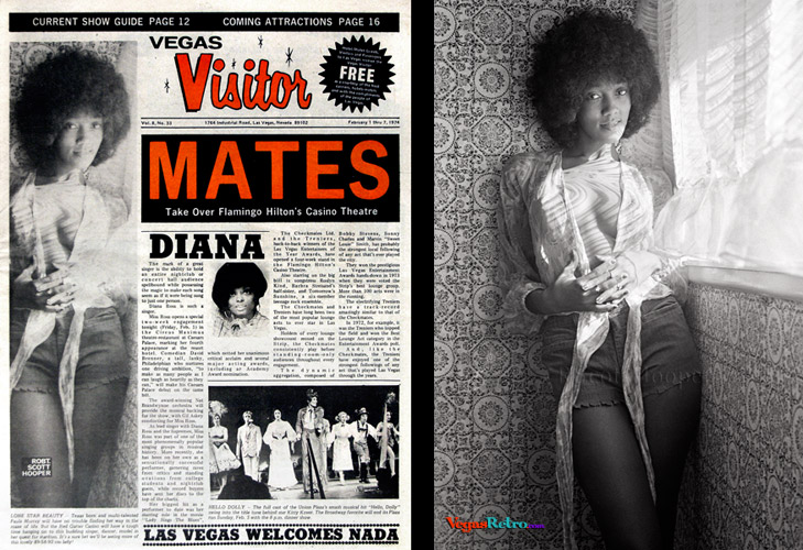 Paula Murray on the VEGAS Visitor Cover