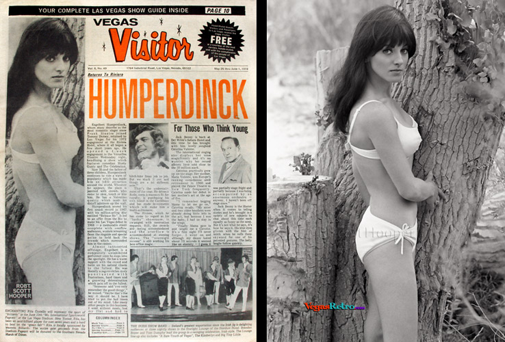 Rita Costello on the Vegas Visitor cover