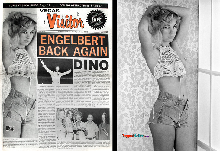 Sally Kofahl on the Vegas Visitor cover