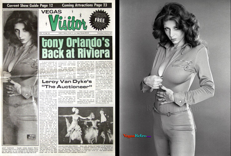 Sharon Commisso Vegas Visitor cover photo 12/2/77